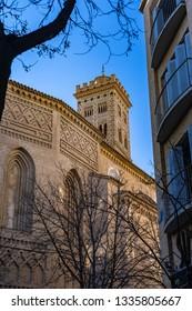 Santa Maria Magdalena Church in Zaragoza, Spain.