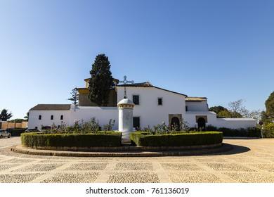 Santa Maria monastery in La Rabida, Andalusia, Spain near Palos de la Frontera in Huelva