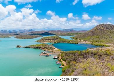 Santa Martha Bay Lake Curacao
