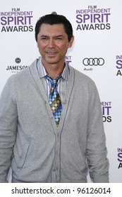 SANTA MONICA, CA - FEB 25: Lou Diamond Phillips at the 2012 Film Independent Spirit Awards on February 25, 2012 in Santa Monica, California