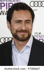 SANTA MONICA, CA - FEB 25: Demian Bichir at the 2012 Film Independent Spirit Awards on February 25, 2012 in Santa Monica, California