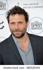 SANTA MONICA, CA - FEBRUARY 21, 2015: Jeremy Sisto at the 30th Annual Film Independent Spirit Awards on the beach in Santa Monica.