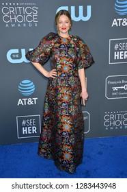 SANTA MONICA, CA. January 13, 2019: Judy Greer at the 24th Annual Critics' Choice Awards in Santa Monica.