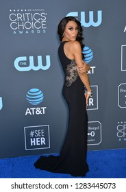 SANTA MONICA, CA. January 13, 2019: Mj Rodriguez at the 24th Annual Critics' Choice Awards in Santa Monica.