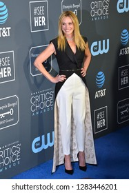 SANTA MONICA, CA. January 13, 2019: Julia Roberts at the 24th Annual Critics' Choice Awards in Santa Monica.