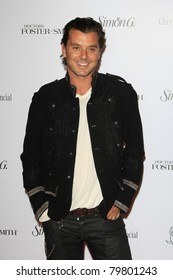SANTA MONICA, CA - OCTOBER 04: Gavin Rossdale at the Lili Claire Foundation's 11th Annual Benefit Dinner on October 4, 2008 in Santa Monica, California