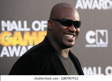 "Santa Monica, CA/USA - February 15, 2014: Shaquille ""Shaq"" O'Neal arrives to the Cartoon Network Hall of Game Awards in Santa Monica."