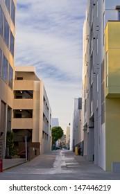 Santa Monica city street