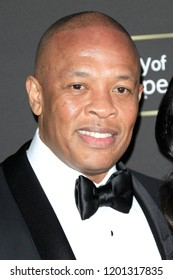SANTA MONICA - OCT 11: Dr Dre at City of Hope Gala 2018 at Barker Hangar on October 11, 2018 in Santa Monica, California