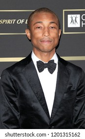 SANTA MONICA - OCT 11: Pharrell Williams at City of Hope Gala 2018 at Barker Hangar on October 11, 2018 in Santa Monica, California