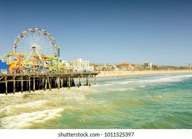 Santa Monica Pier (filter)