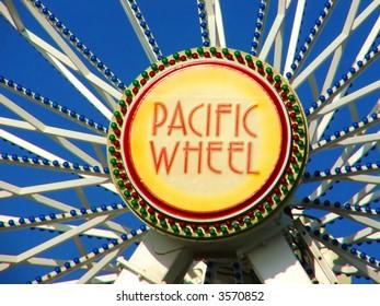 Santa Monica Pier Pacific Wheel