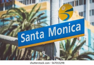 Santa monica street signal