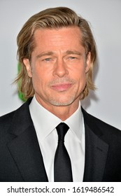 SANTA MONICA, USA. January 18, 2020: Brad Pitt at the 2020 Producers Guild Awards at the Hollywood Palladium.Picture: Paul Smith/Featureflash
