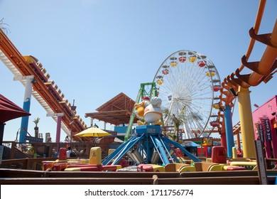 Santa Moninca, California, USA; 09 15 16: santa monica attractions