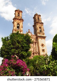 Santa Prisca Church in Taxco, Guerrero, Mexico