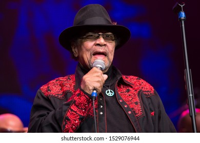 Santa Rosa, CA/USA - 10/8/19: Billy Cox is an American bassist, best known for performing with Jimi Hendrix. Cox is the only surviving musician to have regularly played with Hendrix.