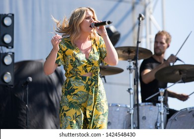 Santa Rosa, CA/USA: 6/14/2019: Lauren Alaina performs at Country Summer Music Festival. She's been nominated and won CMT and ACM awards.