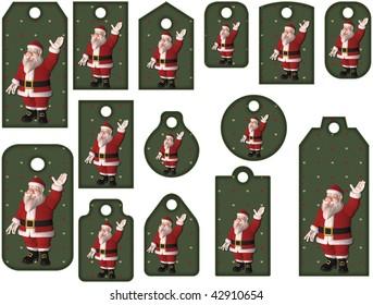 Santa Tag Collection