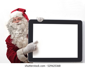 Santa wants to show you something