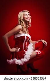 Santa Woman