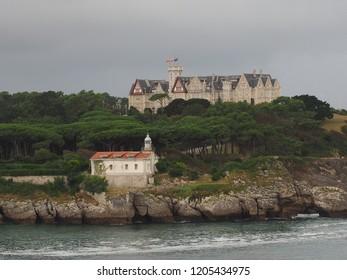 Santander, spain coast line view