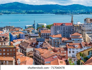 SANTANDER, SPAIN - JUNE 19, 2016: Cityscape of Santander, Spain.