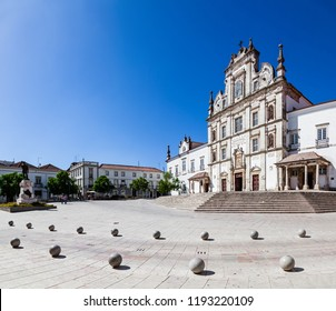 Santarem See Cathedral or Se Catedral de Santarem aka Nossa Senhora da Conceicao Church. Built in the 17th century Mannerist style. Portugal
