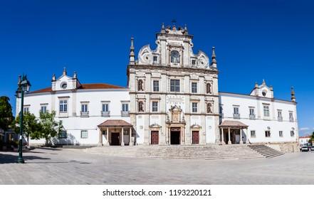 Santarem See Cathedral or Se Catedral de Santarem aka Nossa Senhora da Conceicao Church. Built in the 17th century Mannerist style. Portugal