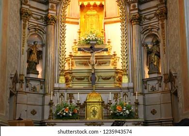 Santarem/Portugal - May 29, 2017: Santarem Eucharistic Miracle