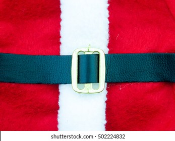 Santa's Belt background for holidays