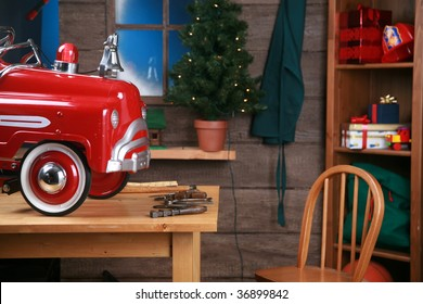 Santa's Workshop in the north pole