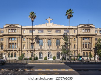 Santiago, Chile - Apr 17, 2018: Catholic University - Santiago, Chile