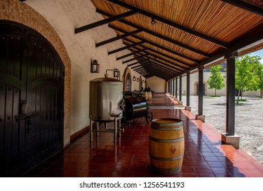 SANTIAGO CHILE - NOV 29, 2018: Concha y Toro Mansion and Vineyard.