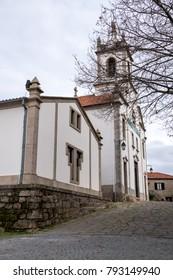Santiago Church in Belmonte (Beautiful mountain), municipality in the district of Castelo Branco, Portugal