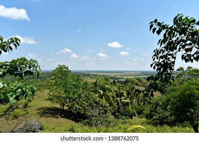 Santiago city, Isabela, Philippines skyline from and around Dariok hill at the day, top of the hill