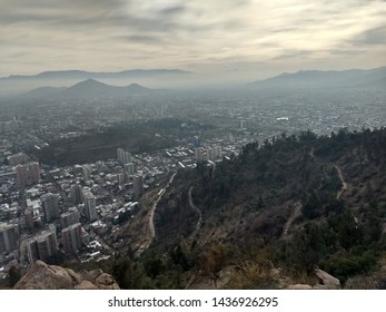 Santiago City view, in Chile