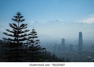 Santiago de Chile from Cerro San Christobal