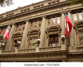 SANTIAGO DE CHILE, JULY 18, 2017 - Bank of Chile Building