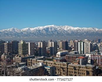 Santiago de Chile, Santa Lucia Hill
