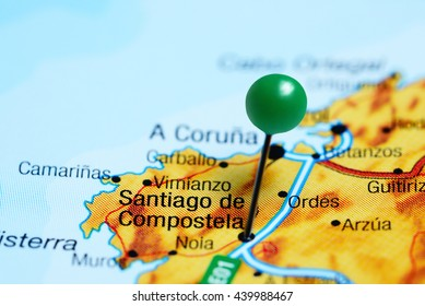 Santiago Pin On Map Images Stock Photos Vectors Shutterstock