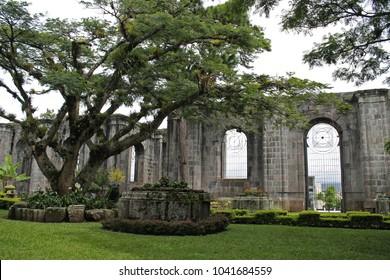 Santiago Apóstol Parish Ruins (Cultural Heritage Site in Cartago)Romanesque Architecture.