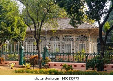 Santiniketan.west bengal/india. taken on 12/31/2016. Rabindranath's House at Santiniketan, West bengal.