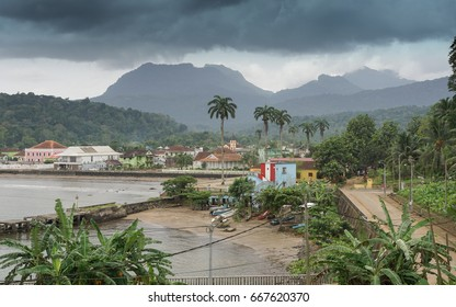 Santo Antonio, capital of Principe Island, Sao Tome and Principe, Africa
