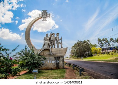 Santo Inácio / Paraná / Brazil - June 13, 2016 - Moments in the city of Santo Inácio - The city is located in the Northwest region of Paraná where it is possible to find traces of the Jesuit missions.