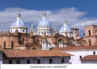 Santo Domingo church, Cuenca, Ecuador