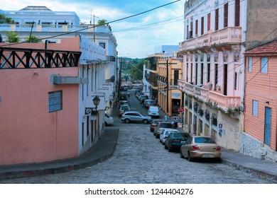 Santo Domingo,  Dominican Republic - June 30, 2018: Daily Life of the Caribbean Capital