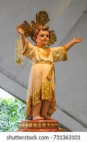 Santo Nino Infant Jesus statue