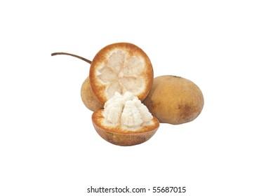 Santol Fruits, sour and sweet taste