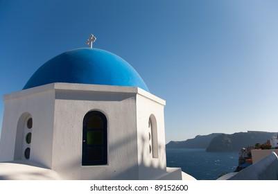Santorini chapel